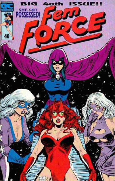 Cover for FemForce (AC, 1985 series) #40