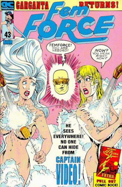 Cover for FemForce (AC, 1985 series) #43