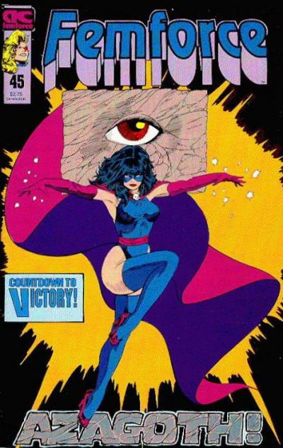 Cover for FemForce (AC, 1985 series) #45