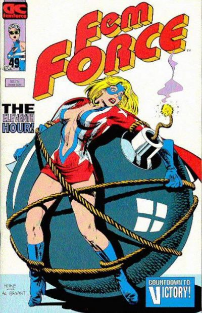Cover for FemForce (AC, 1985 series) #49