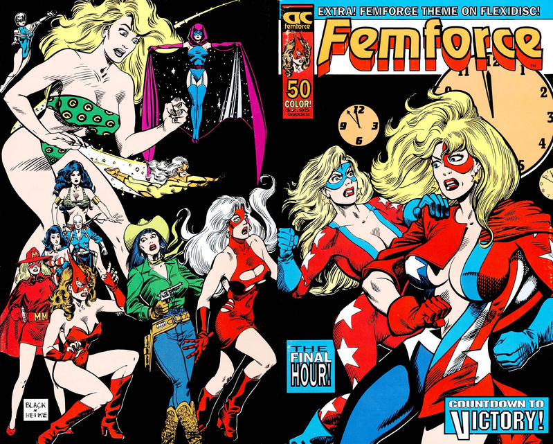 Cover for FemForce (AC, 1985 series) #50