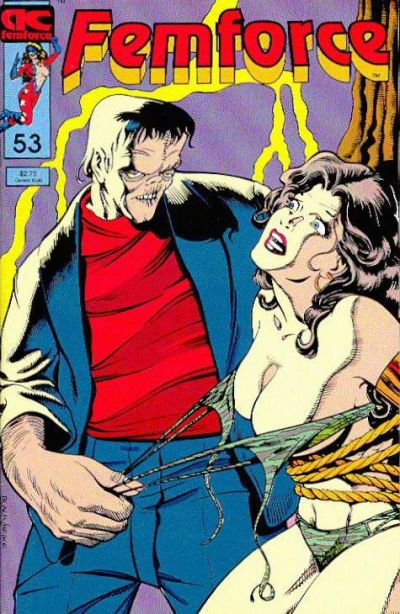 Cover for FemForce (AC, 1985 series) #53