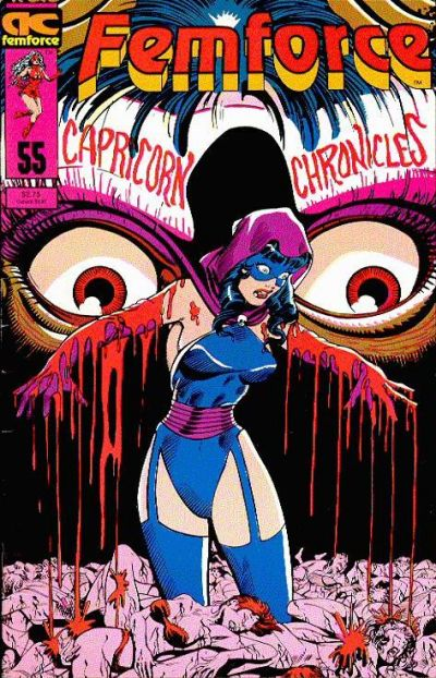 Cover for FemForce (AC, 1985 series) #55