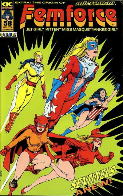 Cover for FemForce (AC, 1985 series) #58