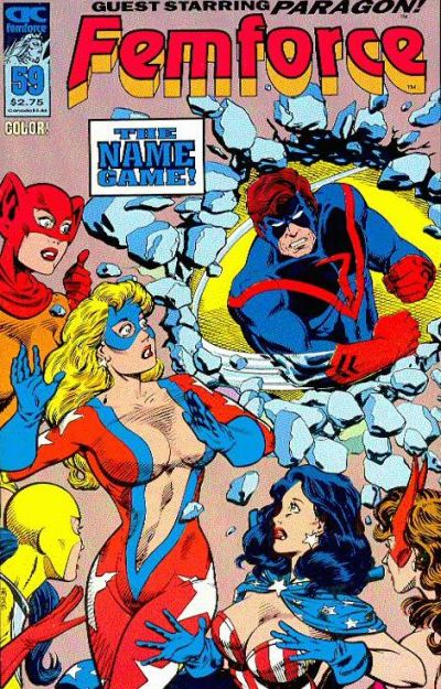 Cover for FemForce (AC, 1985 series) #59