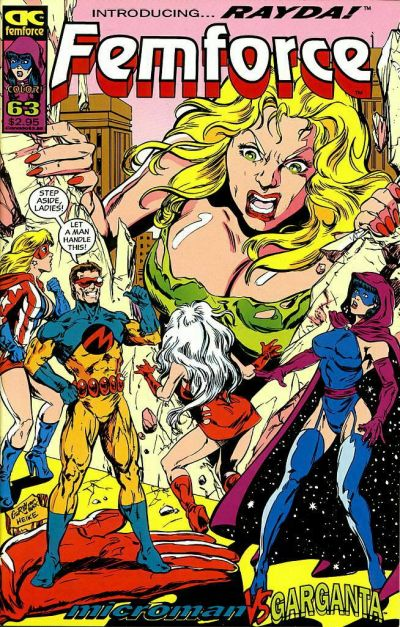 Cover for FemForce (AC, 1985 series) #63
