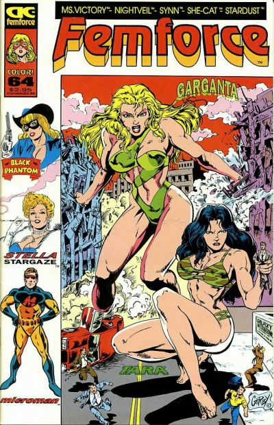 Cover for FemForce (AC, 1985 series) #64