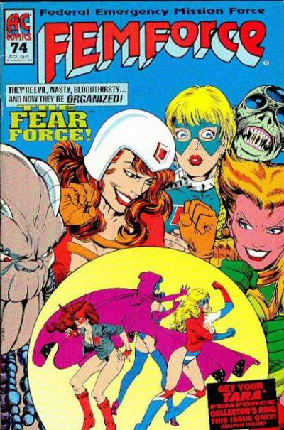 Cover for FemForce (AC, 1985 series) #74