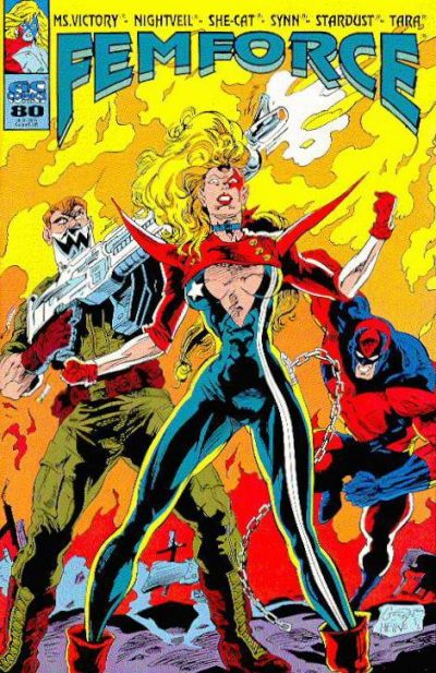 Cover for FemForce (AC, 1985 series) #80