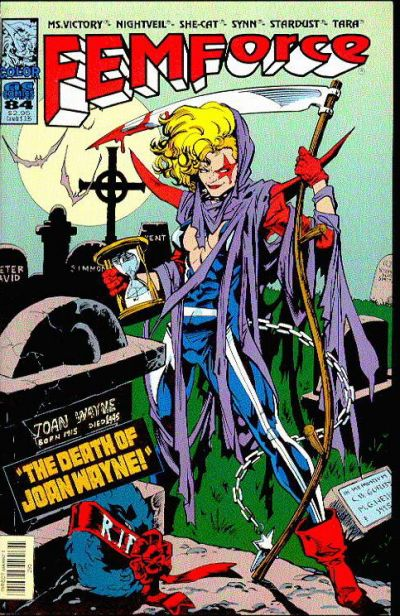 Cover for FemForce (AC, 1985 series) #84