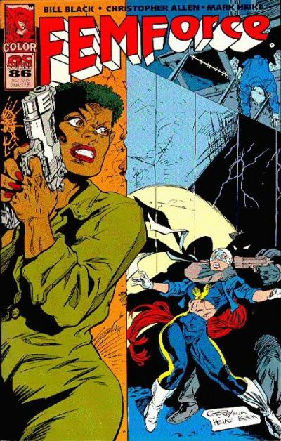 Cover for FemForce (AC, 1985 series) #86