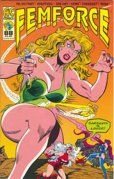Cover for FemForce (AC, 1985 series) #88