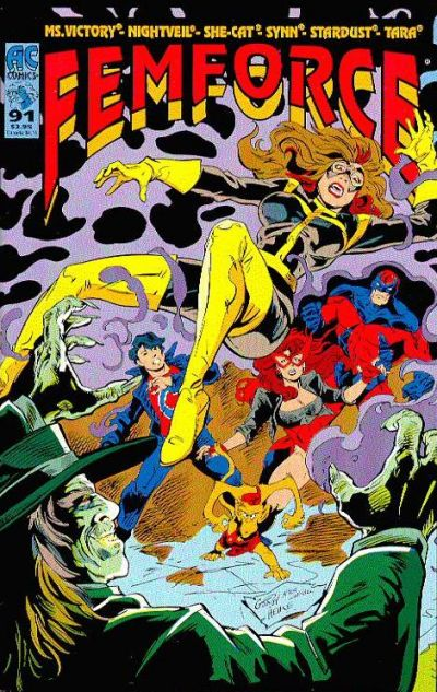 Cover for FemForce (AC, 1985 series) #91