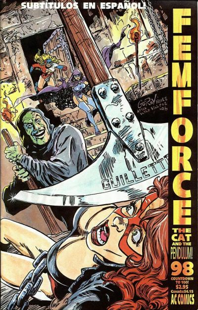 Cover for FemForce (AC, 1985 series) #98