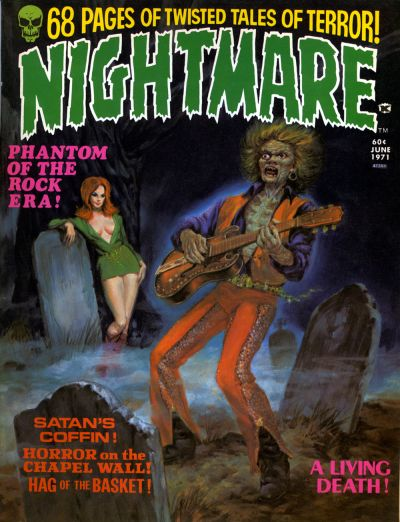 Cover for Nightmare (Skywald, 1970 series) #4