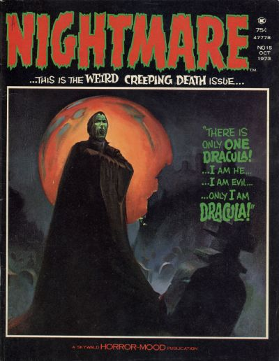 Cover for Nightmare (Skywald, 1970 series) #15