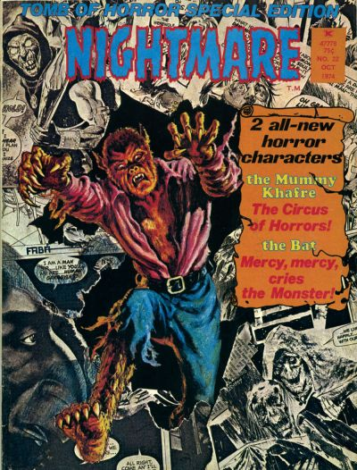 Cover for Nightmare (Skywald, 1970 series) #22