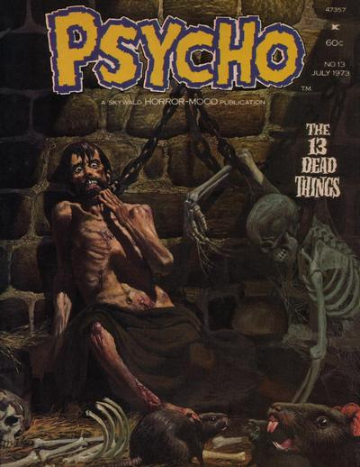Cover for Psycho (Skywald, 1971 series) #13