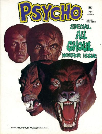 Cover for Psycho (Skywald, 1971 series) #15