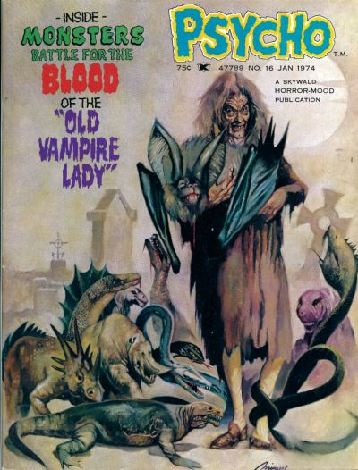 Cover for Psycho (Skywald, 1971 series) #16