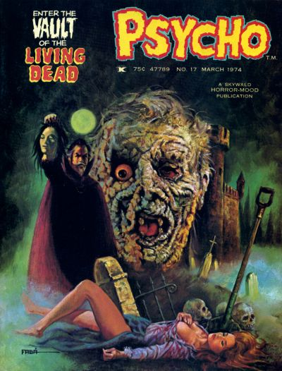 Cover for Psycho (Skywald, 1971 series) #17