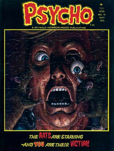 Cover for Psycho (Skywald, 1971 series) #18