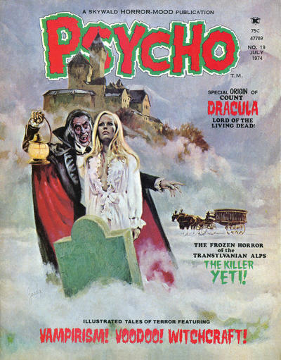 Cover for Psycho (Skywald, 1971 series) #19