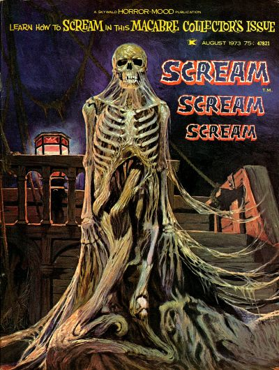 Cover for Scream (Skywald, 1973 series) #1