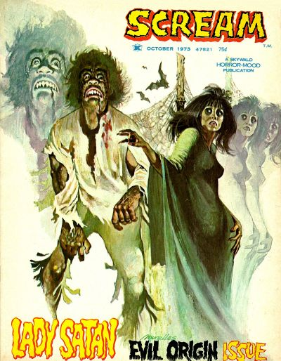 Cover for Scream (Skywald, 1973 series) #2