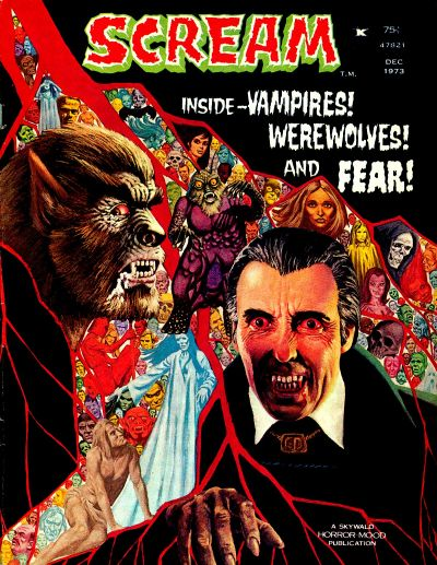 Cover for Scream (Skywald, 1973 series) #3