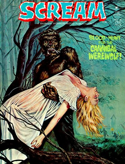 Cover for Scream (Skywald, 1973 series) #4