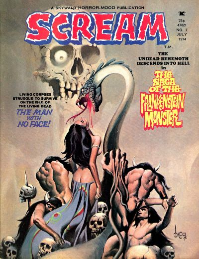 Cover for Scream (Skywald, 1973 series) #7