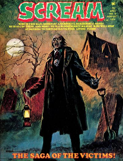 Cover for Scream (Skywald, 1973 series) #8