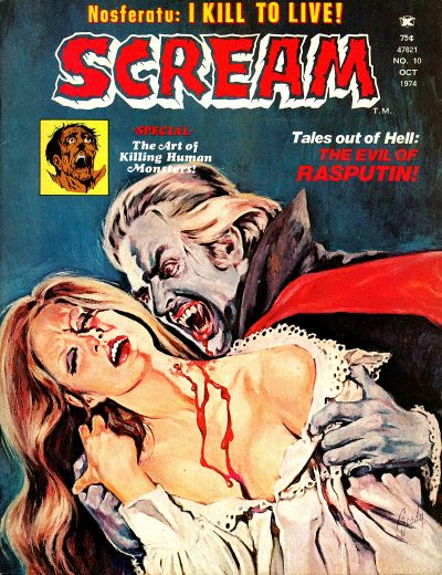 Cover for Scream (Skywald, 1973 series) #10