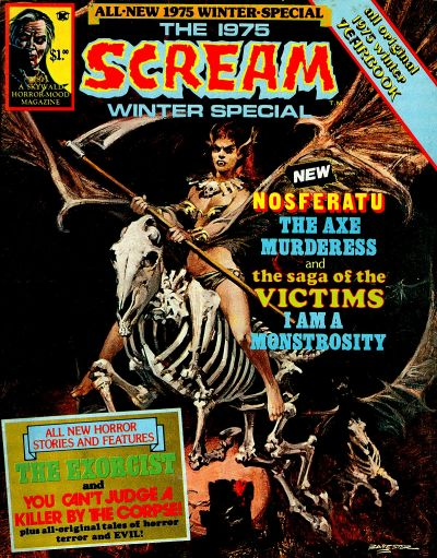 Cover for Scream (Skywald, 1973 series) #11