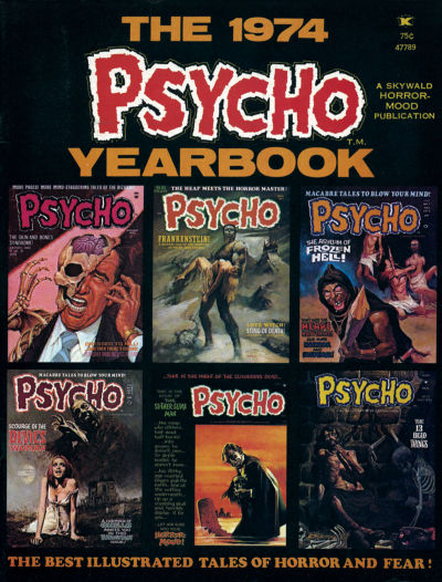 Cover for The 1974 Psycho Yearbook (Skywald, 1974 series) #1