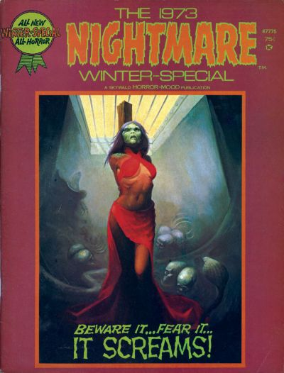 Cover for Nightmare 1973 Winter-Special (Skywald, 1973 series) #1