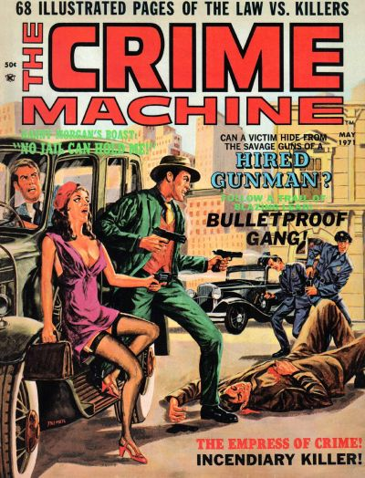 Cover for The Crime Machine (Skywald, 1971 series) #2