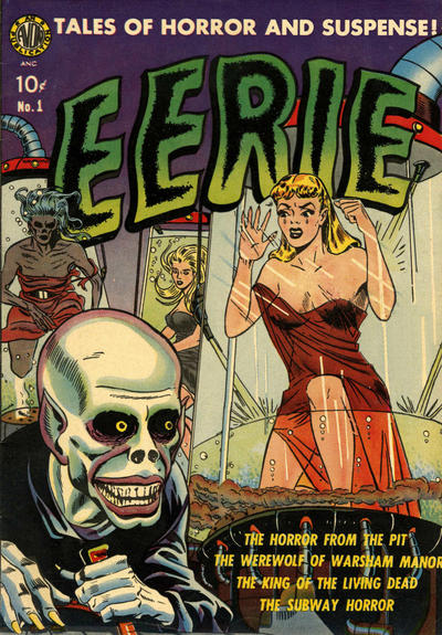 Cover for Eerie (Avon, 1951 series) #1