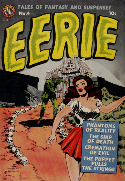 Cover for Eerie (Avon, 1951 series) #4