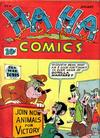 Cover for Ha Ha Comics (American Comics Group, 1943 series) #4