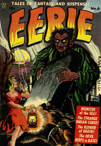 Cover Thumbnail for Eerie (Avon, 1951 series) #6
