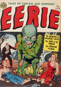 Cover Thumbnail for Eerie (Avon, 1951 series) #8