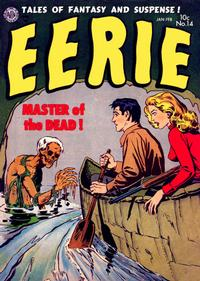Cover Thumbnail for Eerie (Avon, 1951 series) #14