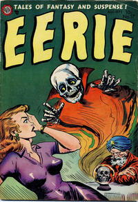 Cover Thumbnail for Eerie (Avon, 1951 series) #17