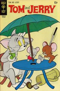 Cover Thumbnail for Tom and Jerry (Western, 1962 series) #253