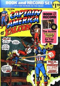 Cover Thumbnail for Captain America and the Falcon [Book and Record Set] (Peter Pan, 1974 series) #PR12