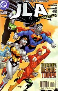 Cover Thumbnail for JLA: Classified (DC, 2005 series) #2 [Direct Sales]