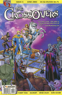 Cover Thumbnail for The Crossovers (CrossGen, 2003 series) #5