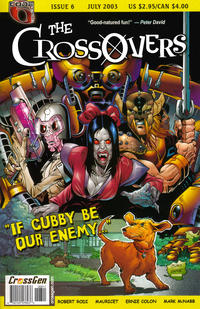 Cover Thumbnail for The Crossovers (CrossGen, 2003 series) #6